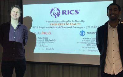 RICS Seminar: Sharing the Realinflo Journey