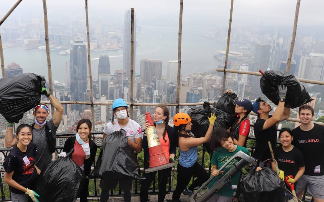 Realinflo Supporting Adventure Clean Up Challenge in Hong Kong